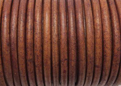 Rzemien Antic Light Brown 4mm