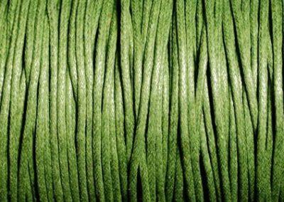 Sznurek bawełniany woskowany ciemna zieleń