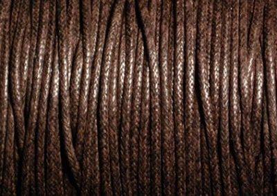 Sznurek bawełniany woskowany czekolada