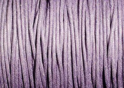 Sznurek bawełniany woskowany jasny fiolet