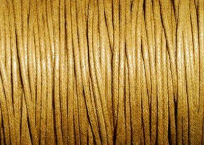 Sznurek bawełniany woskowany miód