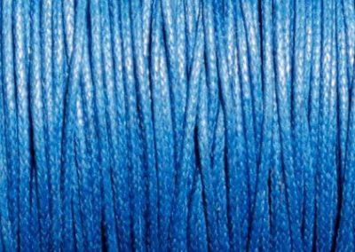 Sznurek bawełniany woskowany niebieski