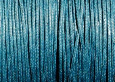 Sznurek bawełniany woskowany niebieski lotniczy