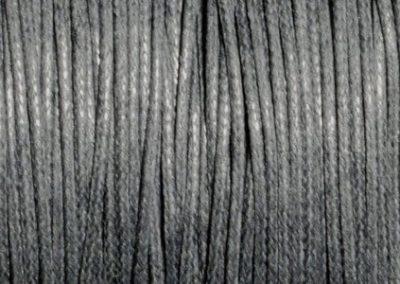 Sznurek bawełniany woskowany szary