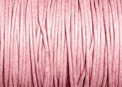 Sznurek bawełniany woskowany wrzos