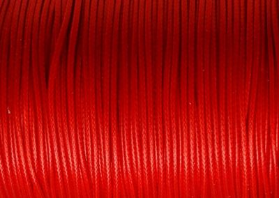 Sznurek lakierowany czerwony 1