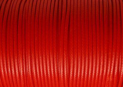Sznurek lakierowany czerwony2