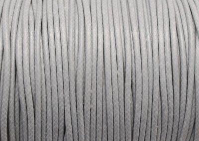 Sznurek lakierowany jasny szary