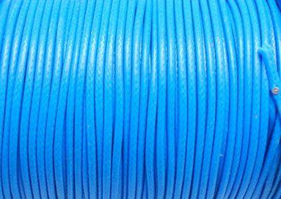 Sznurek lakierowany niebieski