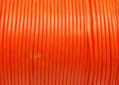 Sznurek lakierowany pomarańcz