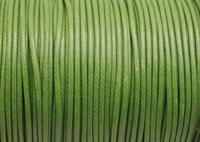 Sznurek lakierowany zielony