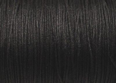 Sznurek nylonowy czarny