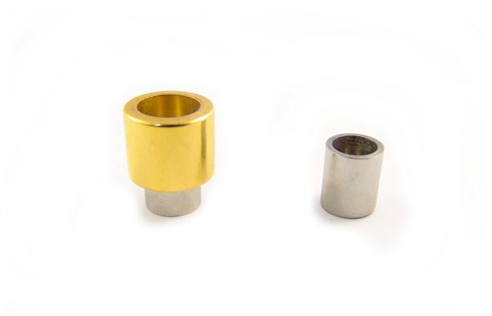 Zapięcie magnetyczne teleskop złoty